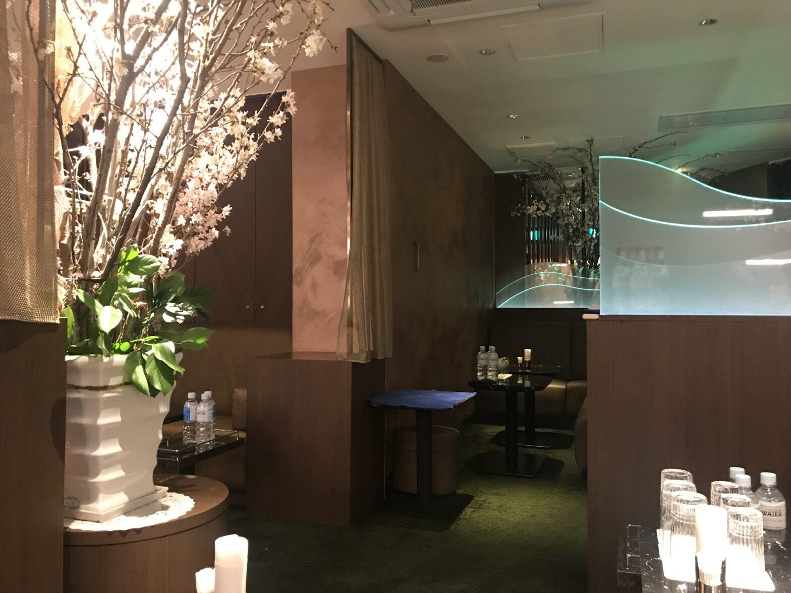 銀座の高級クラブ、シレーヌ(ClubSirene)の店内画像