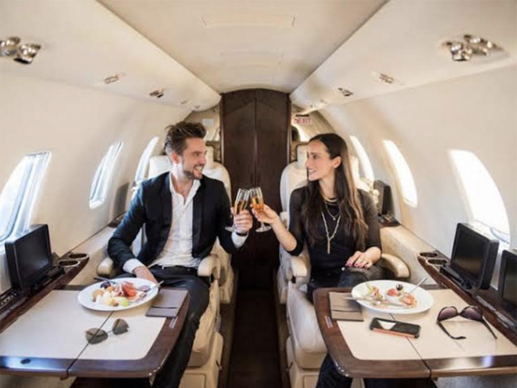 富裕層の休暇のイメージ