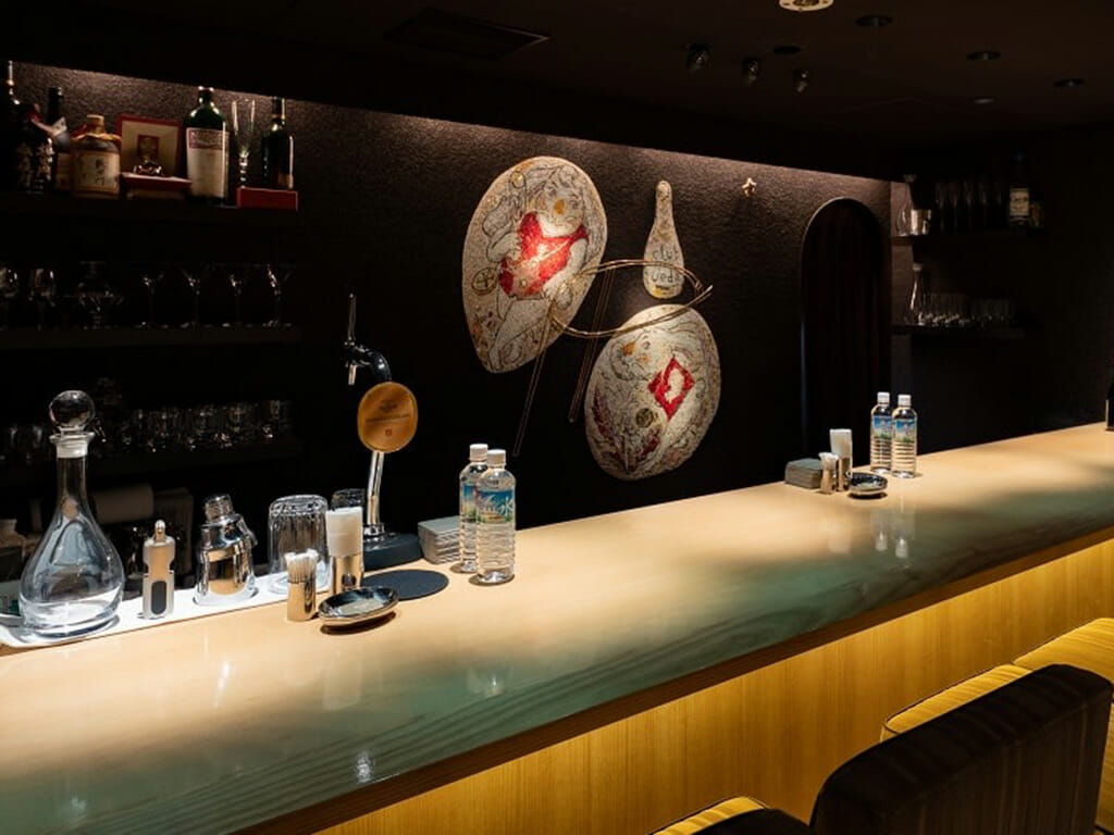 銀座クラブ上田の店内画像