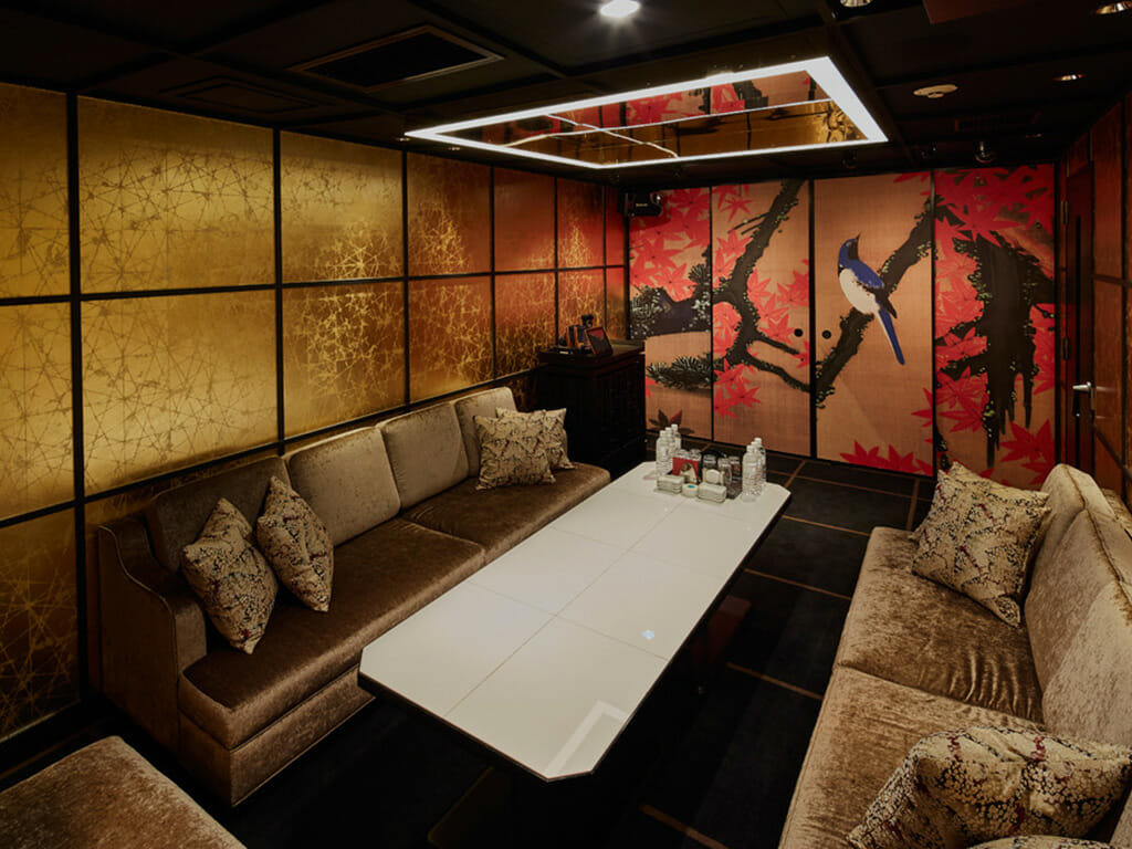 美人茶屋六本木の店内画像