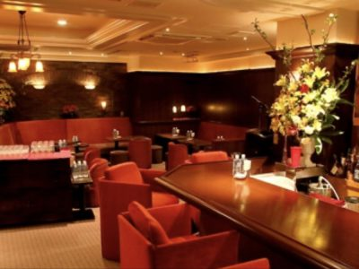 銀座の高級クラブ、クラブ凛の店内画像