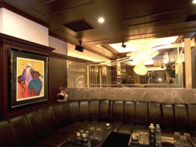 銀座クラブマティオの内装