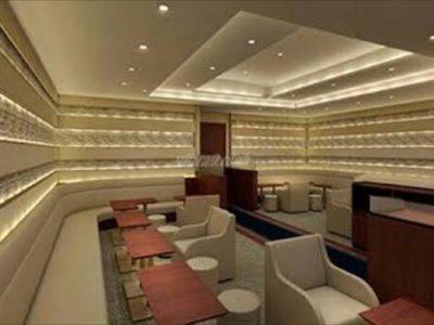 銀座の高級クラブ、ビジュ(Bijou)の内装