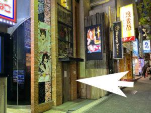 歌舞伎町オレンジテラスへの道