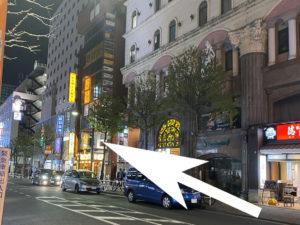 歌舞伎町花音への道